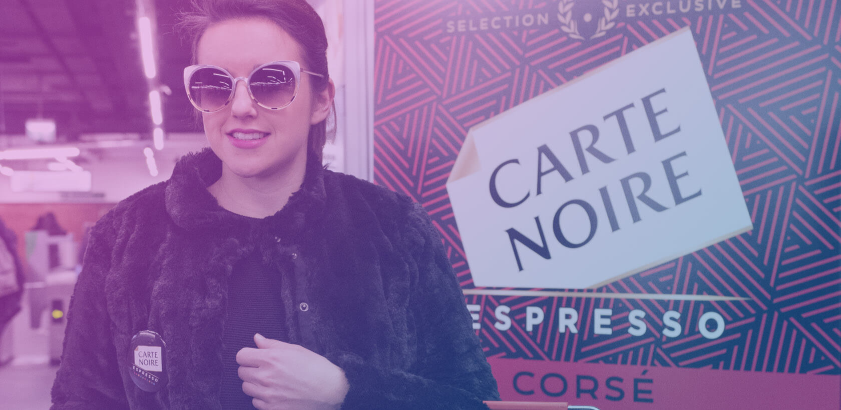 Espresso Carte Noire Street marketing - Globe