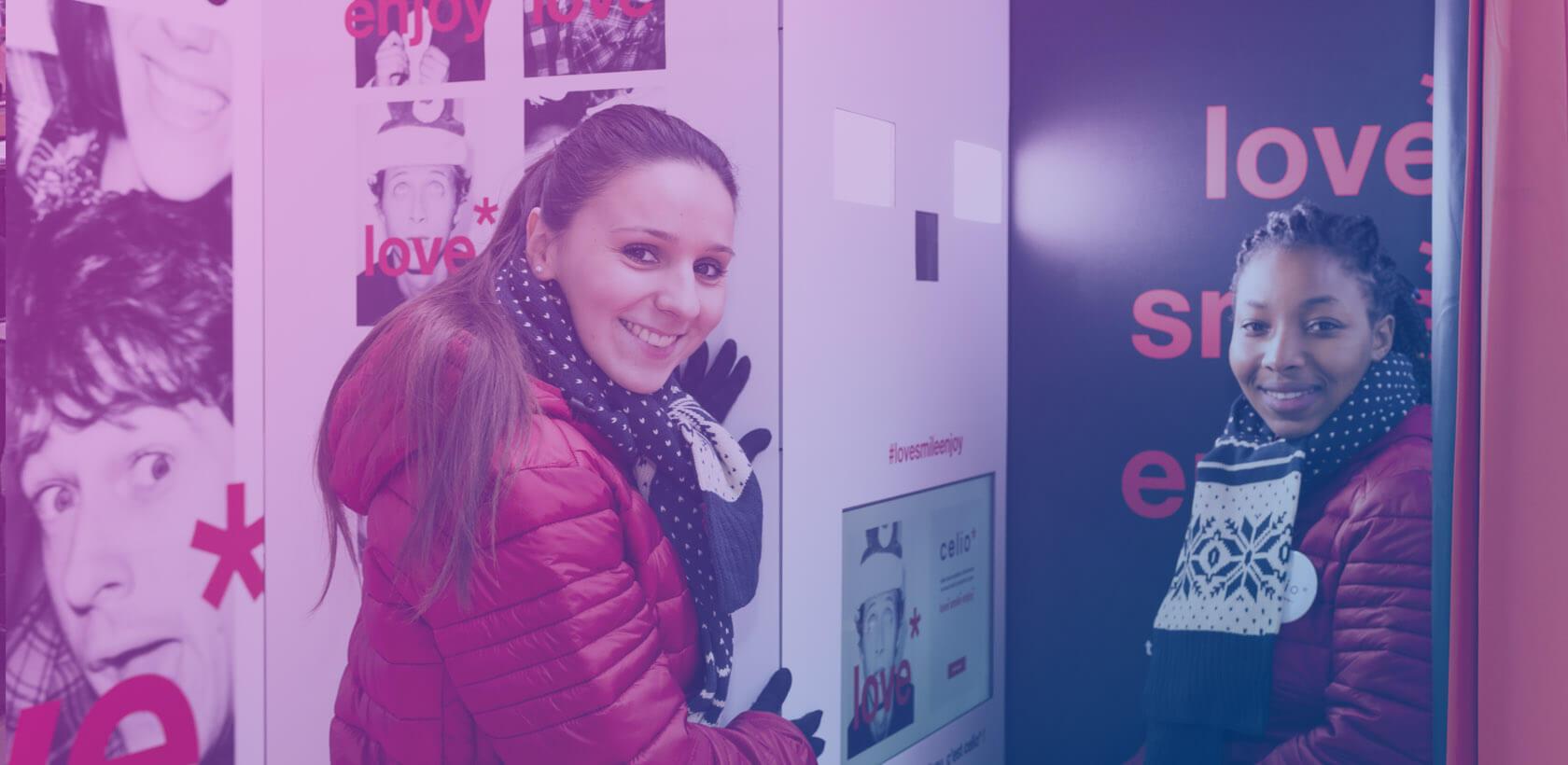 Celio #LOVESMILEENJOY - Agence Globe shopper marketing