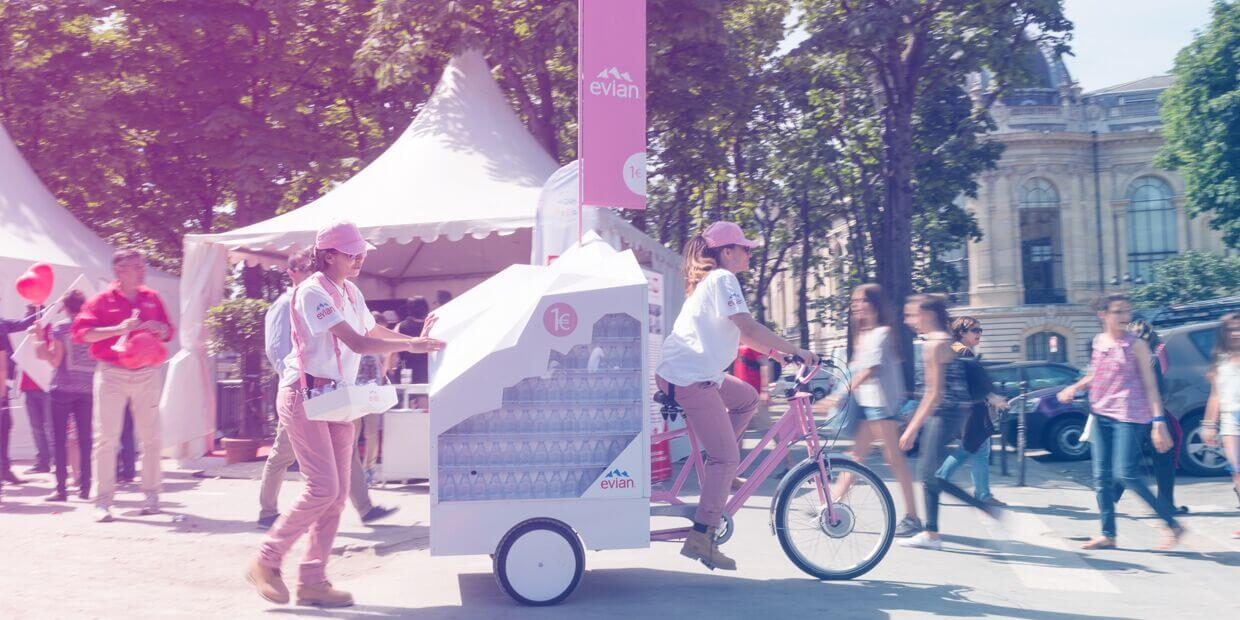 Evian - Shopper Marketing GLOBE