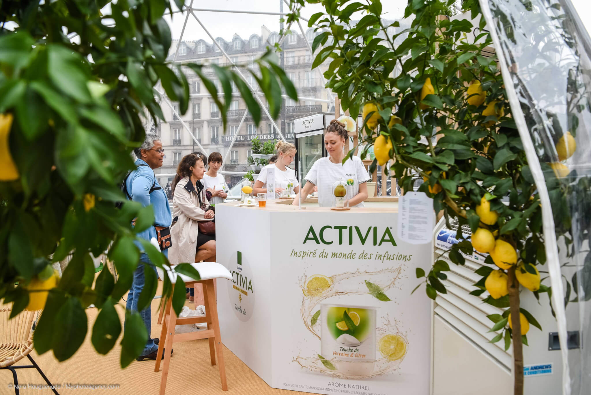 Activia Slider - Animation commerciale