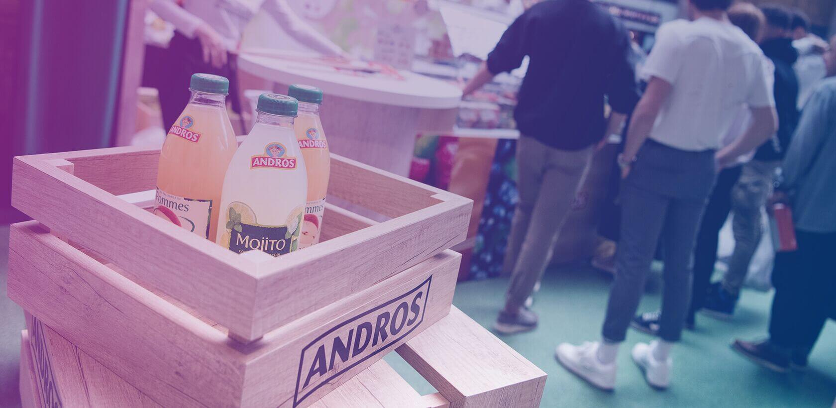 Campagne street marketing Andros - Globe
