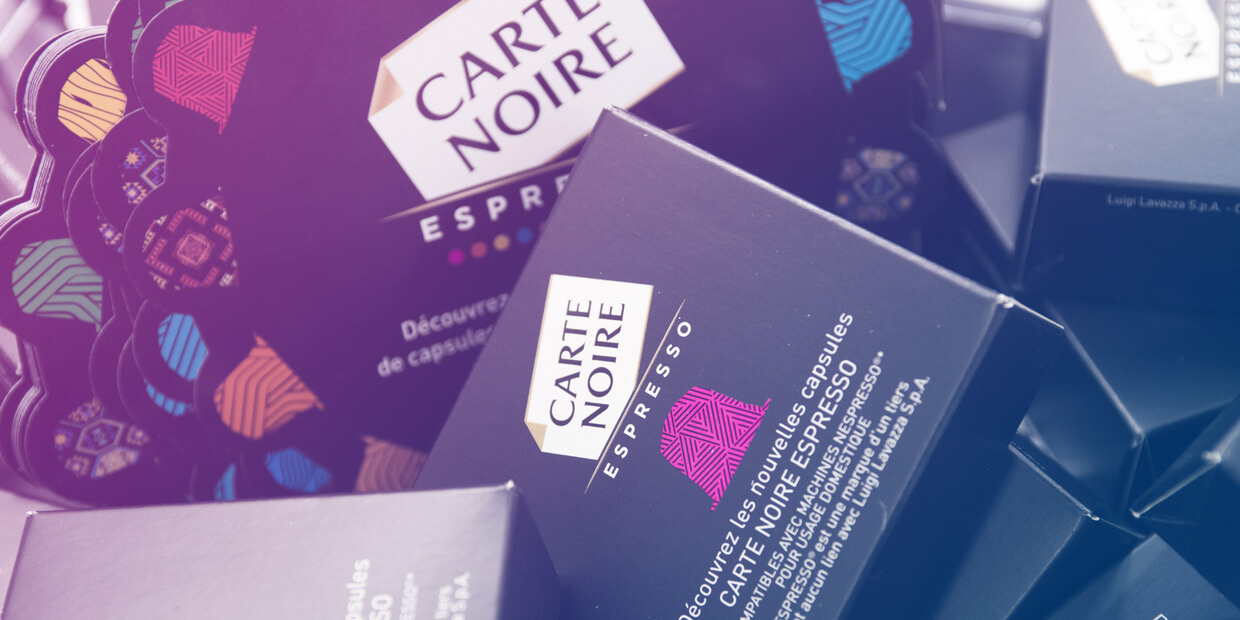 Carte Noire - Sampling by Globe Groupe