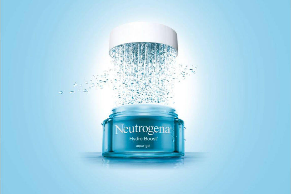 Skin care Neutrogena - Commercial animation