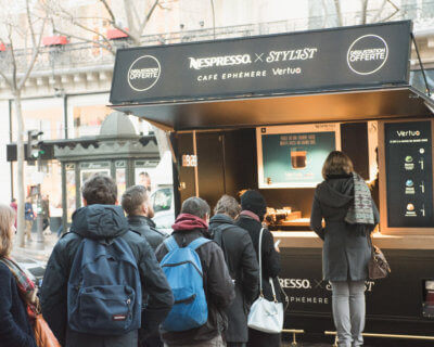 Nespresso ★ Roadshow Truck Globe