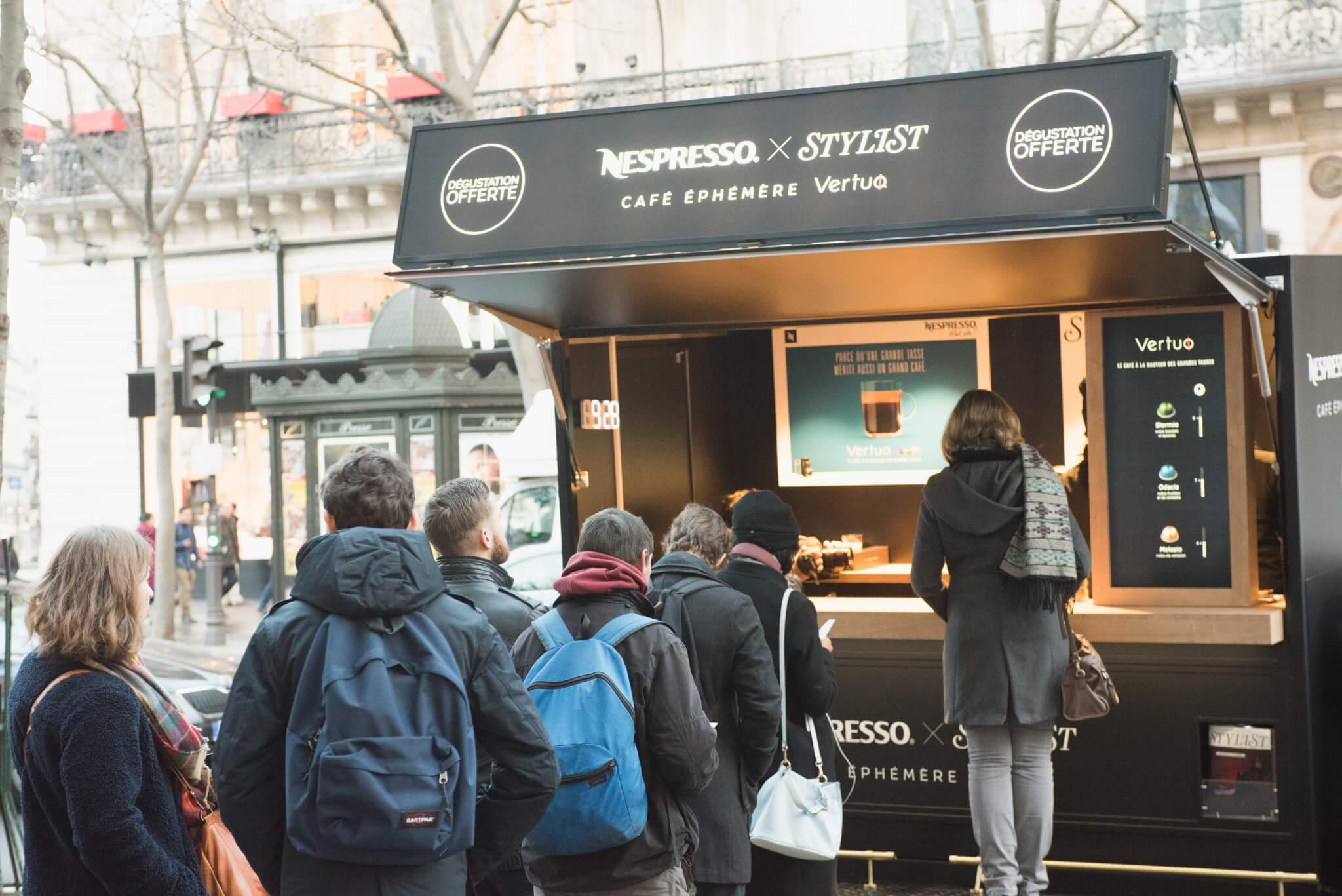 Nespresso - Roadshow Truck Globe