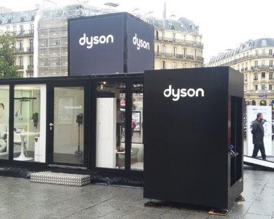 Dyson City Rising - Pop'Up Store Evénementiel Globe
