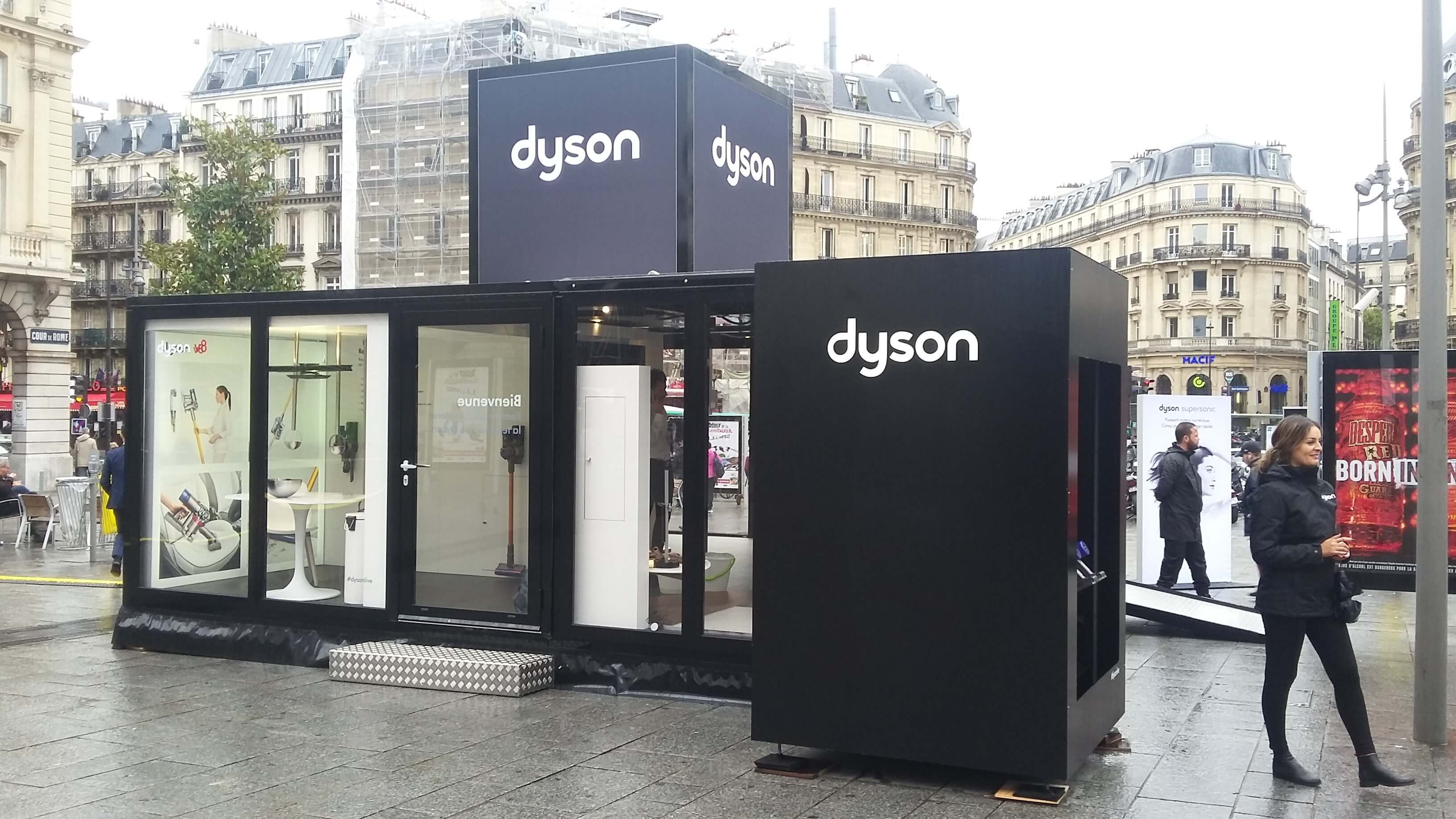 Dyson City Rising - Pop'Up Store Evénementiel Globe
