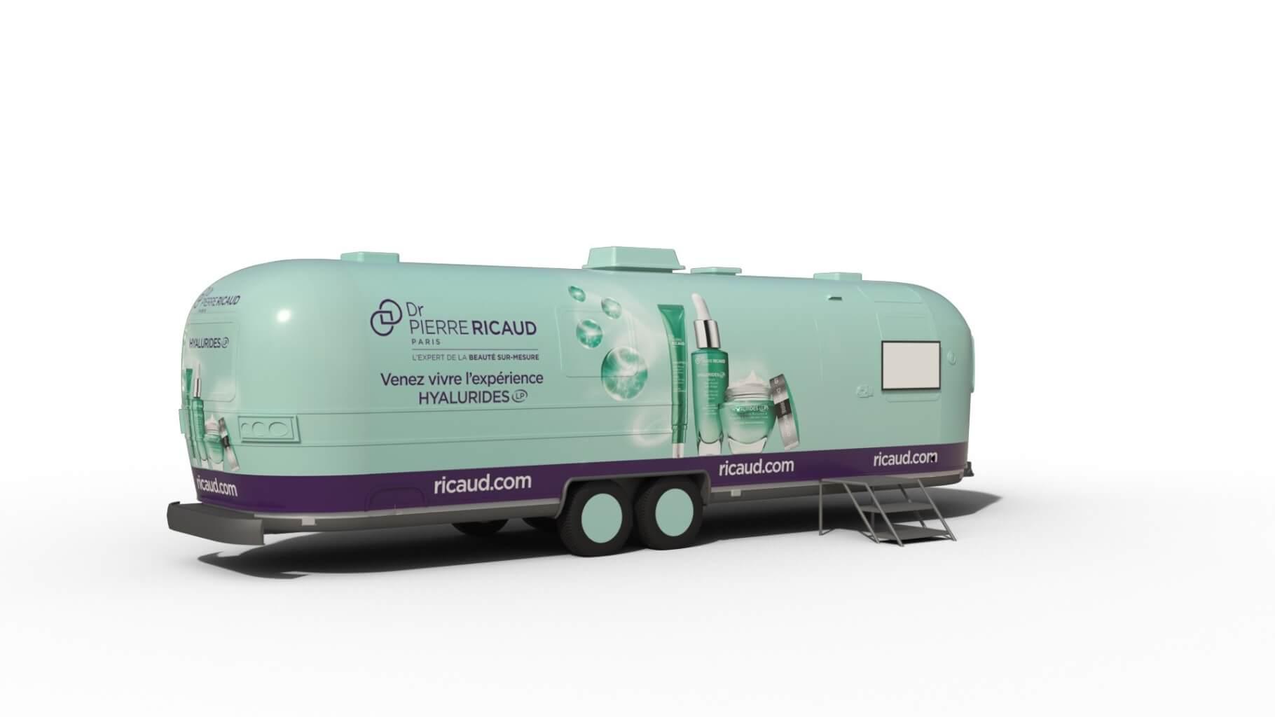 Dr Pierre Ricaud - Beauty Truck