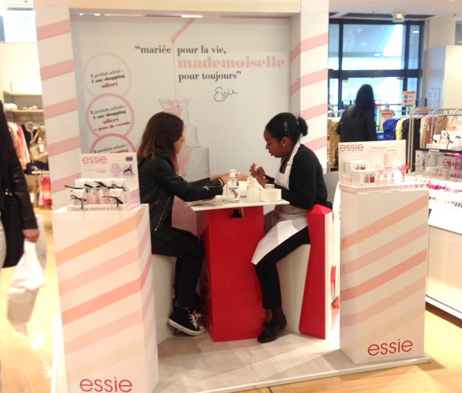 ESSIE - Animation commerciale