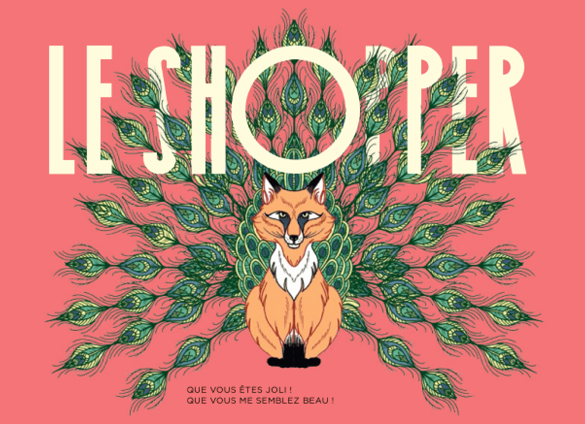 Shopper - Edito de Jeremy Dahan