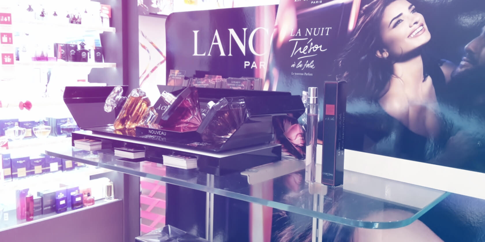Commercial Animation Lancôme - Shopper Agency Lancôme