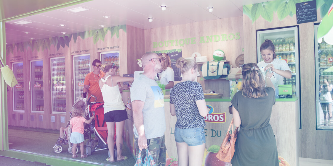 Andros juice bar - Globe Experiential Marketing
