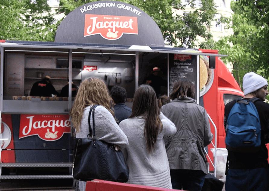 Roadshow Jacquet Burger _ Agence Shopper Marketing Globe