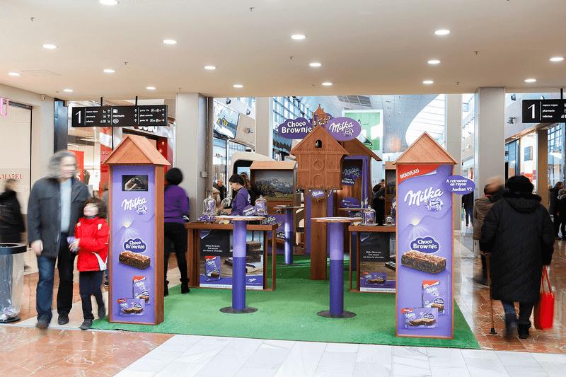 Milka - Campagne marketing expérientiel Globe