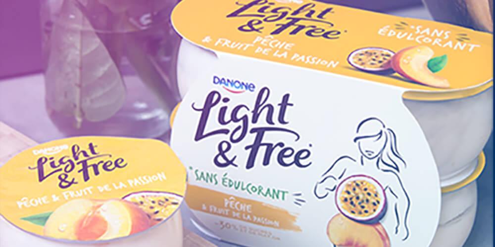Échantillonnage - Danone Light & Free