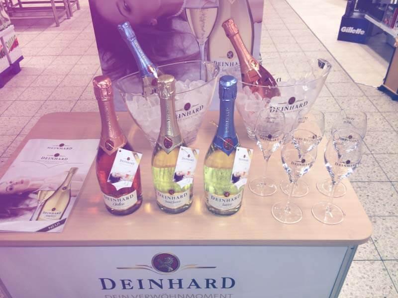 Foto Verkostung für die Marke Deinhard