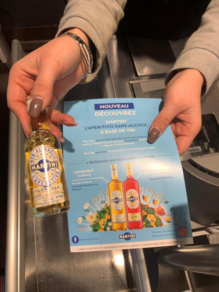 opération proxi Martini sans alcool