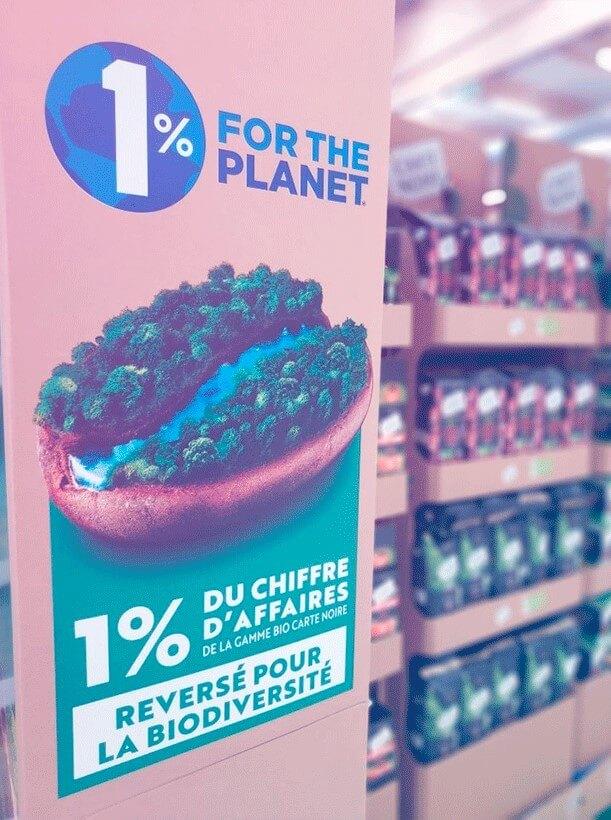 Carte Noire Bio 1% for the planet GLOBE